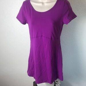 Lucy Women's Athletic Top Yoga Running M Purple